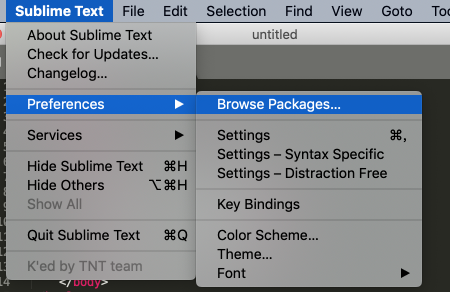 Sublime Text for Mac v3.2(3204) 中文破解版下载 代码编辑器