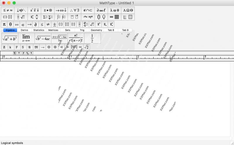 MathType for Mac v7.4.1 英文破解版 数学公式编辑器