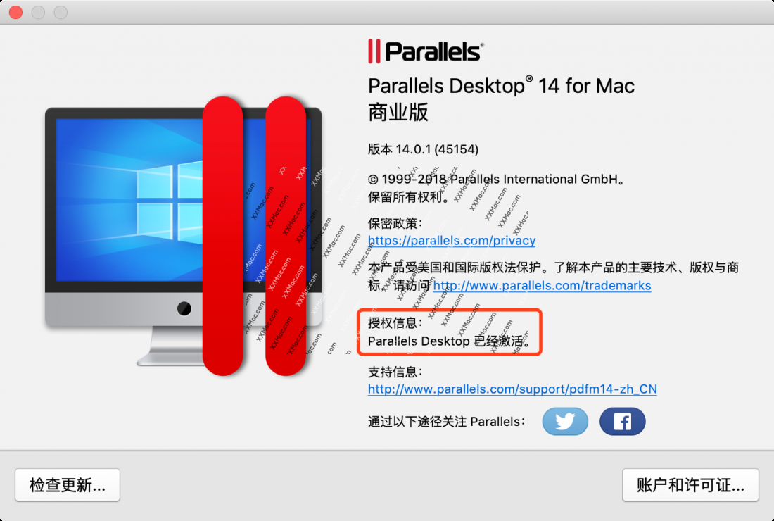 Parallels Desktop v14.0.1 for Mac中文破解版 虚拟机软件